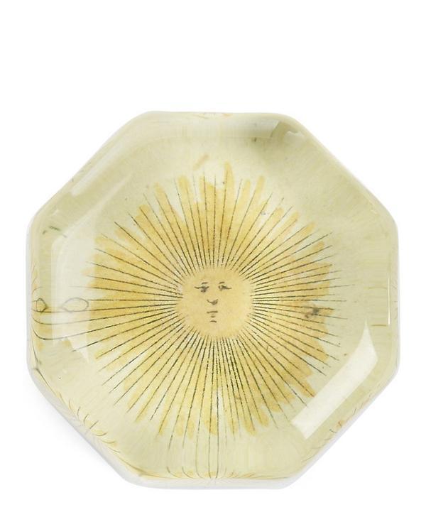 Sun Octagonal Charm Paperweight