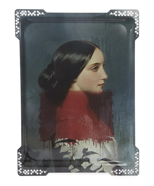Galerie de Portraits Large Ida Rectangular Tray
