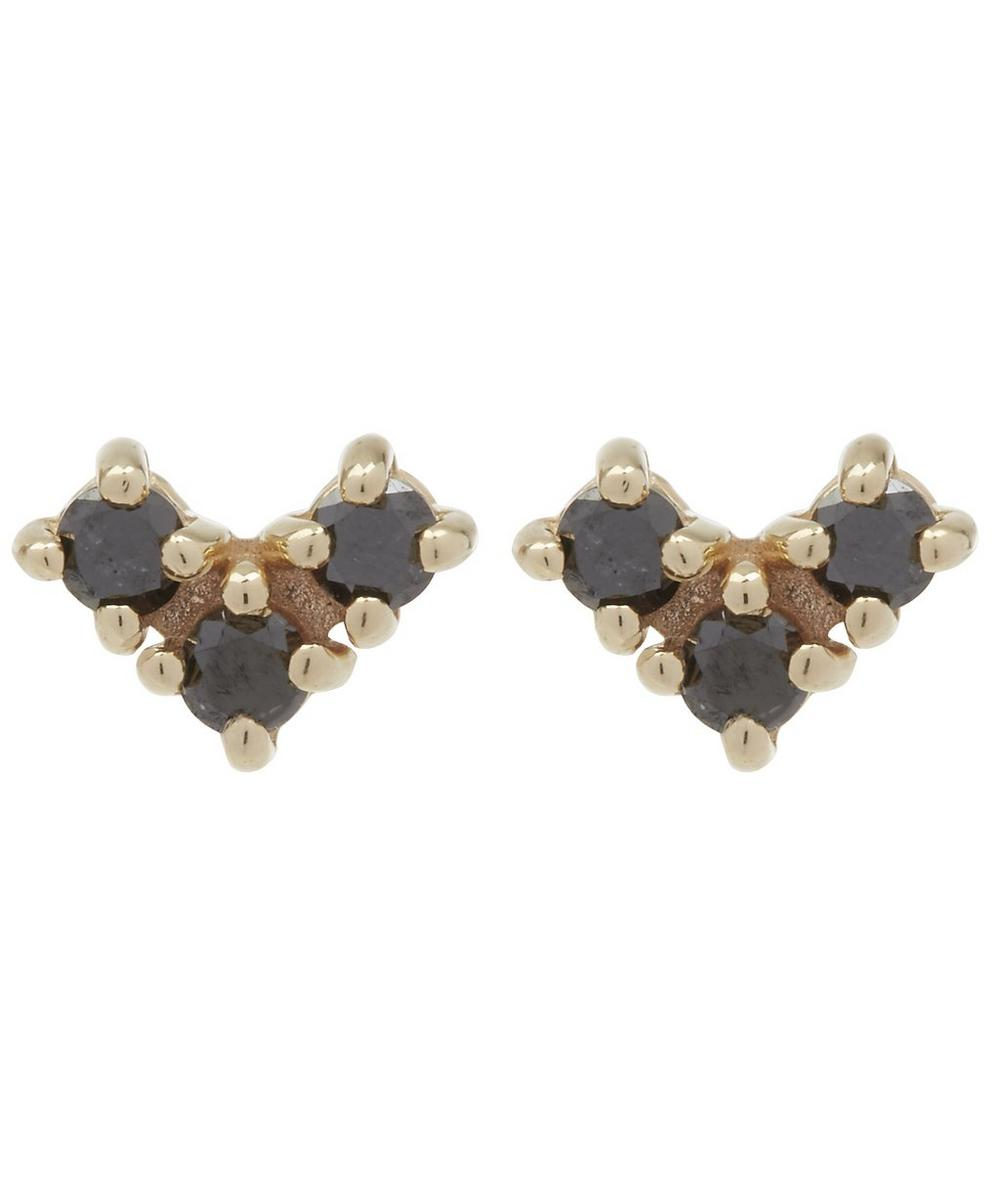 Gold Bea Arrow Stud Earrings