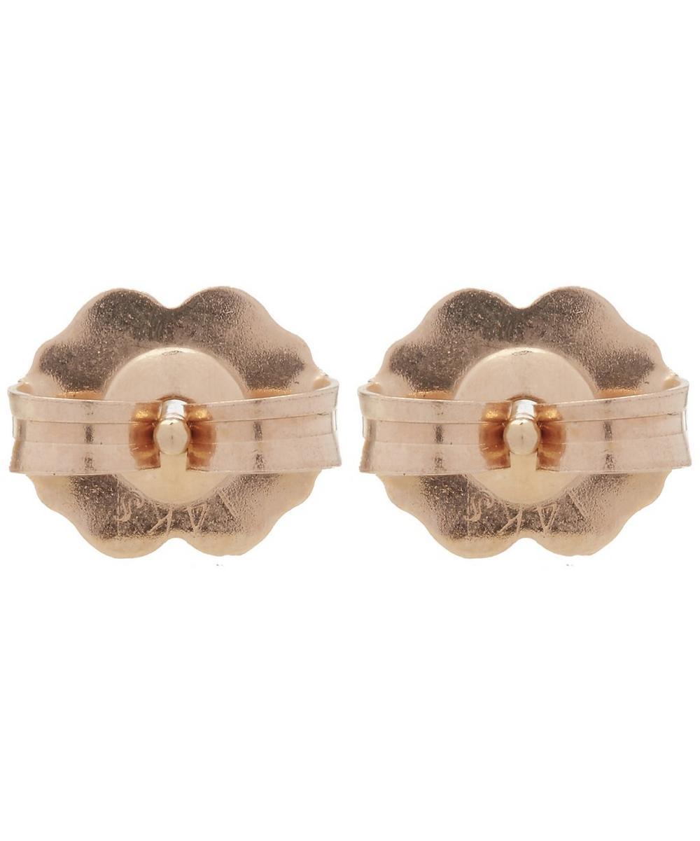 Rose Gold Bea Arrow Stud Earrings