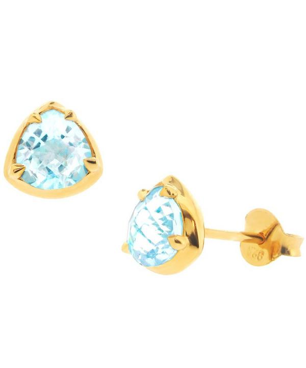Trillion Sheba Stud Earrings