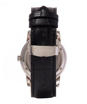 Stainless Steel Heritage 40 Black Dial Watch