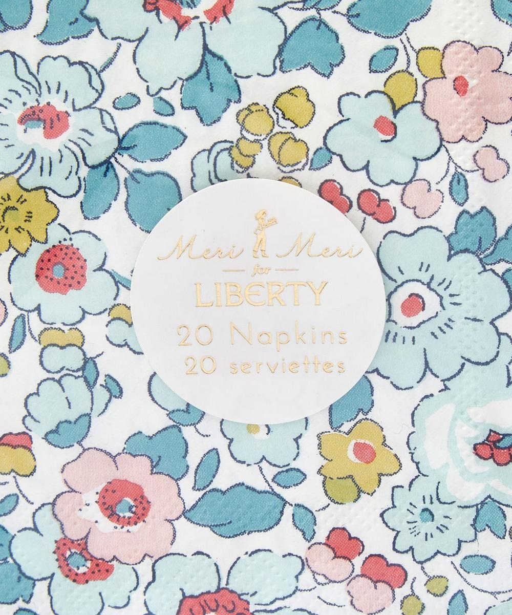 Small Betsy Liberty Print Napkins