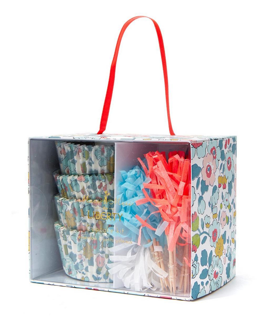 Betsy Liberty Print Cupcake Set