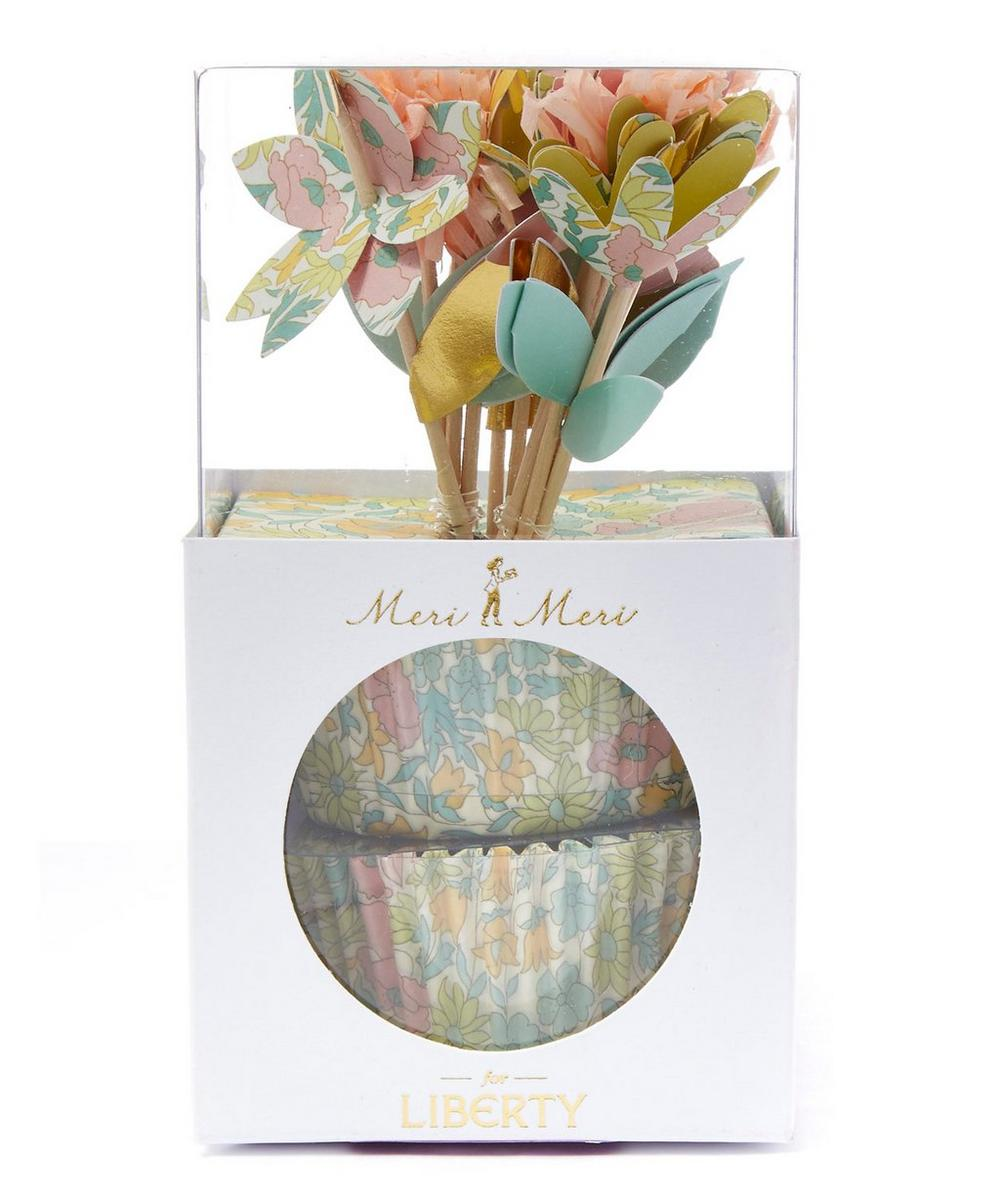 Poppy and Daisy Liberty Print Cupcake Set