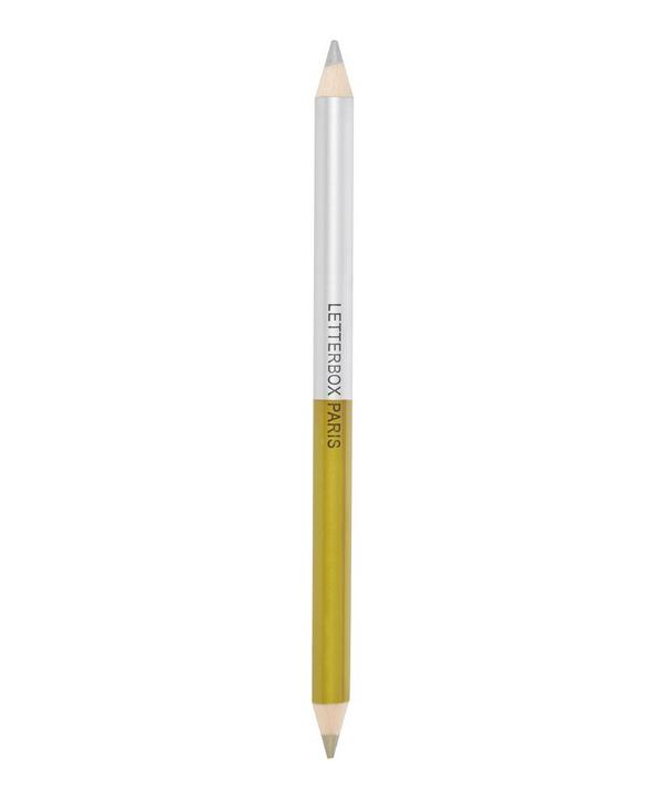 Silver and Gold Double Pencil