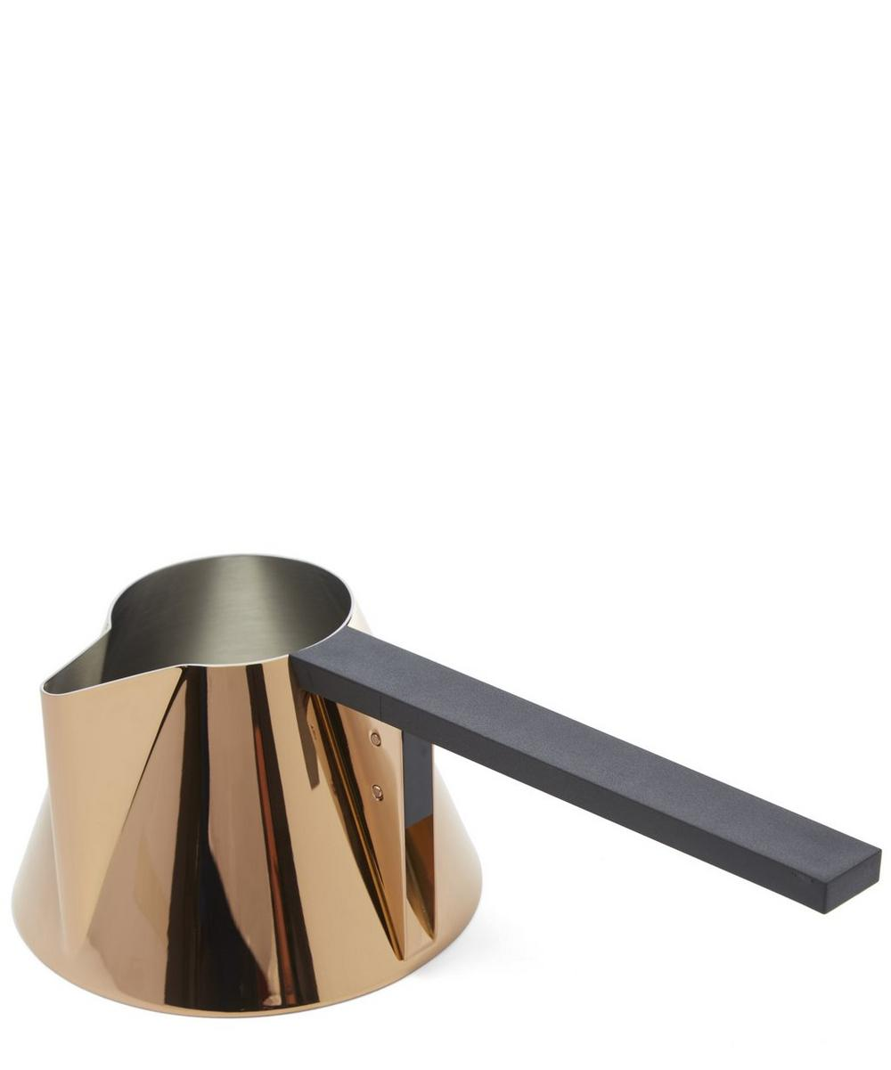 Copper-Tone Brew Milk Pan