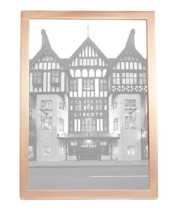 Senza 5 x 7 Copper Photo Frame