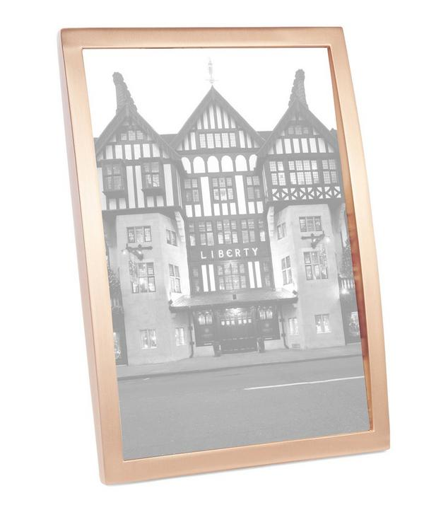 Senza 5 x 7 Copper Photo Frame