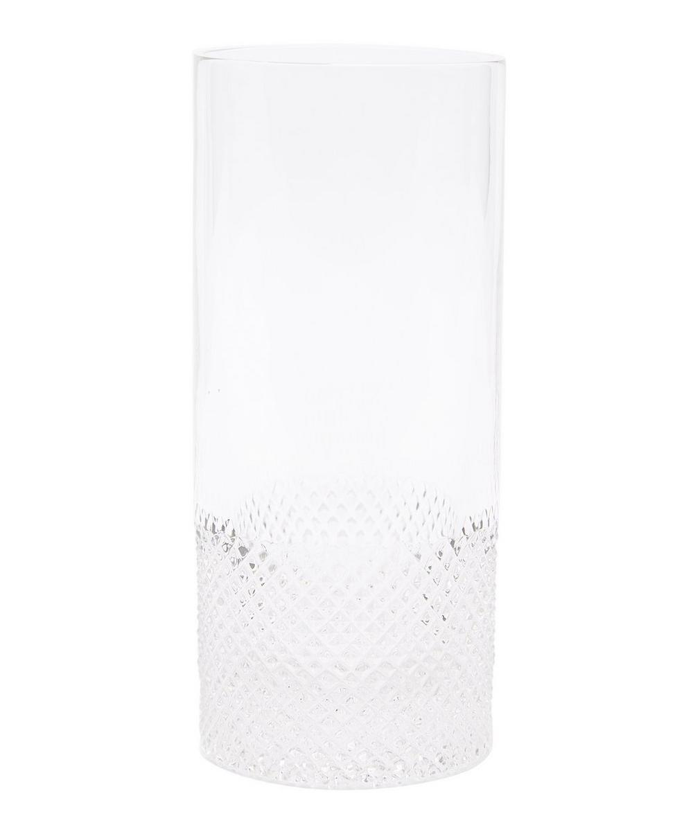 Diamond-Cut Crystal Highball