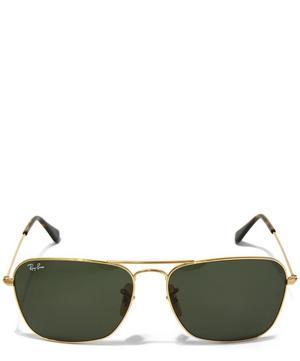 Vintage Square Aviator Sunglasses