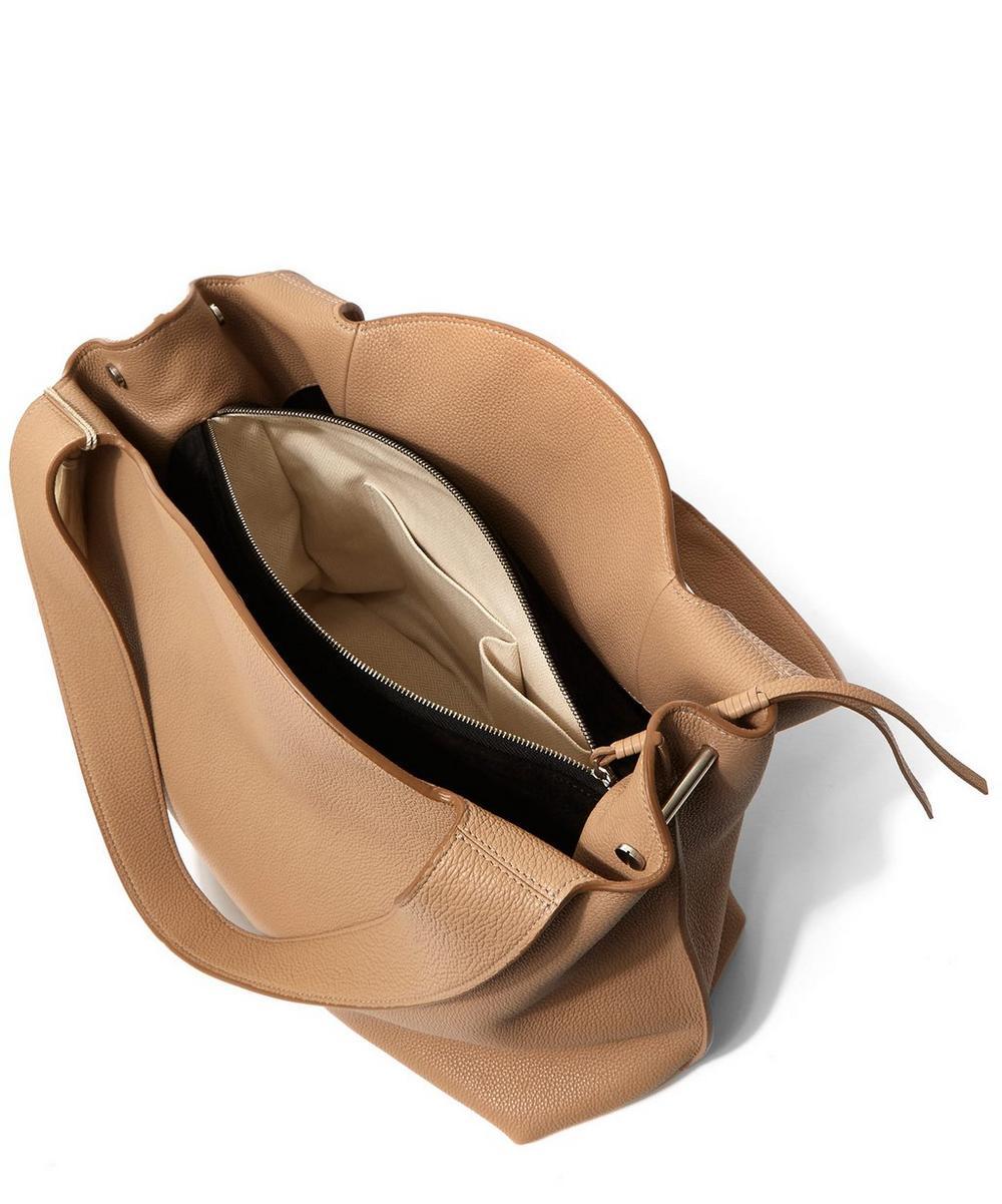 Duplex Leather Tassel Shoulder Bag
