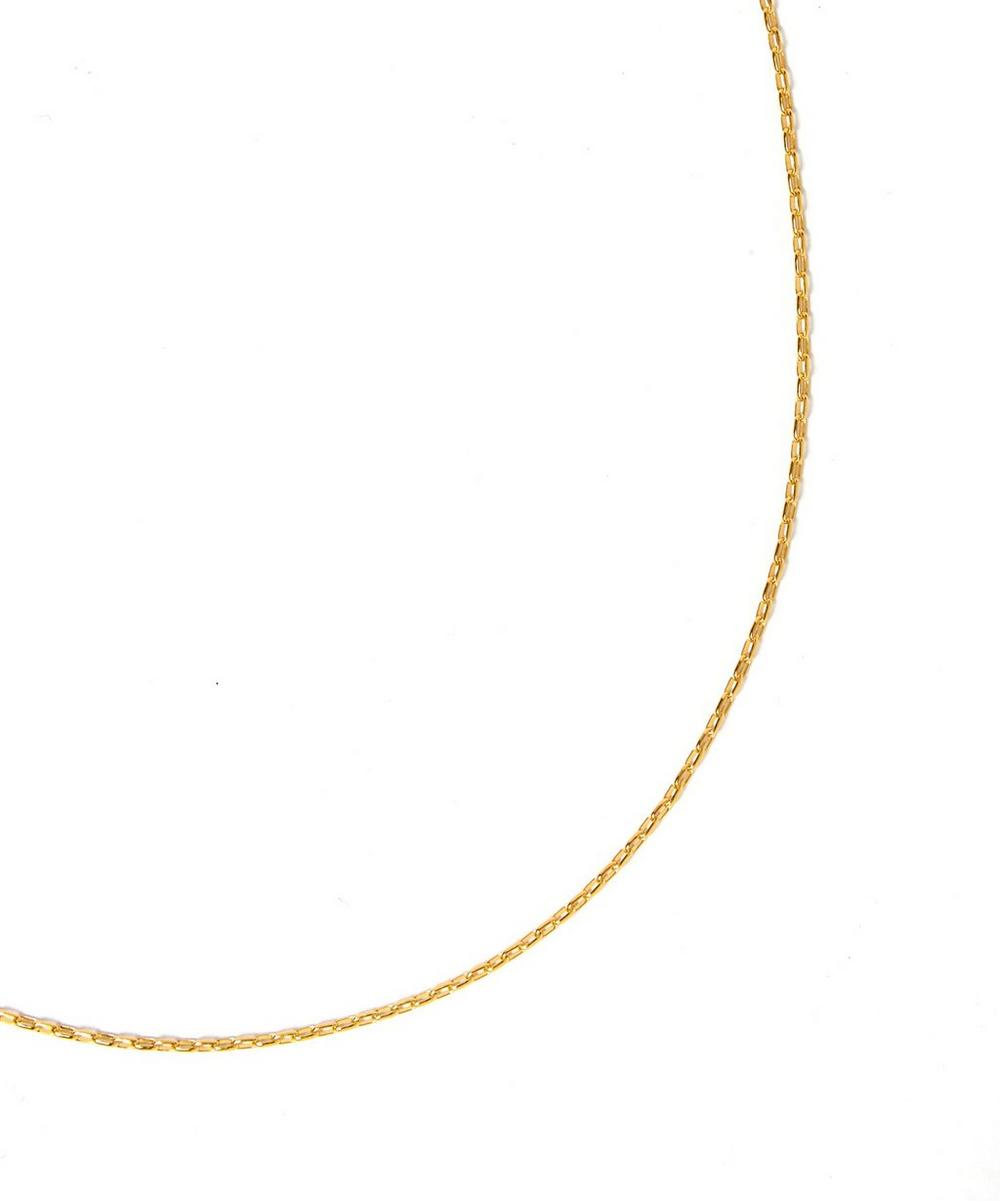 Small Gold-Plated Fine Open Link Chain