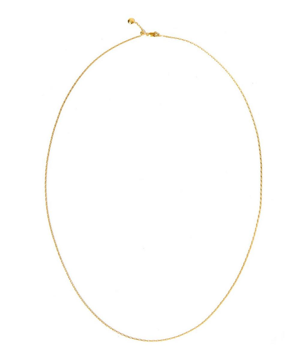 Large Gold-Plated Fine Open Link Chain