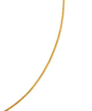 Small Gold-Plated Fine Oval Box Chain