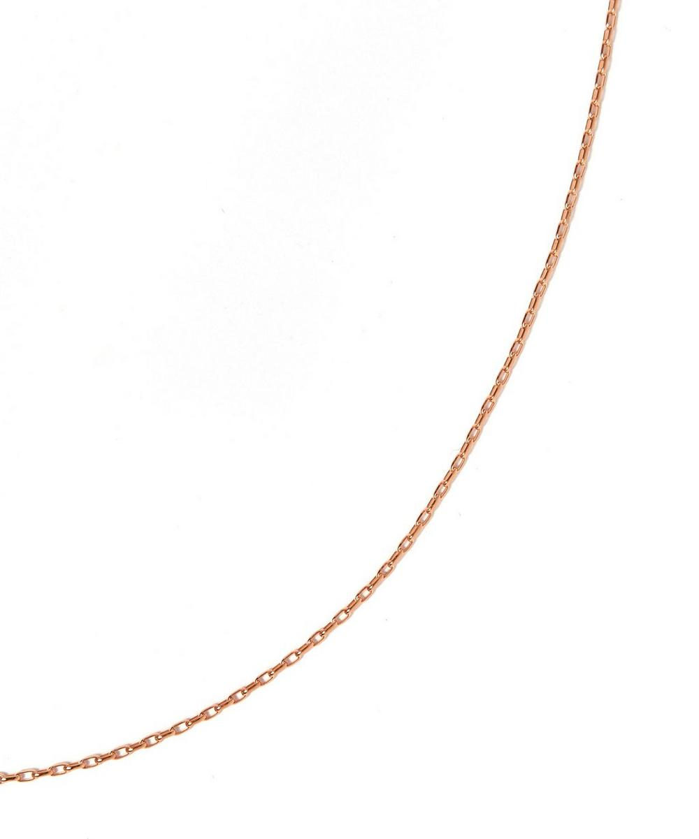 Rose Gold-Plated Fine Open Link Chain