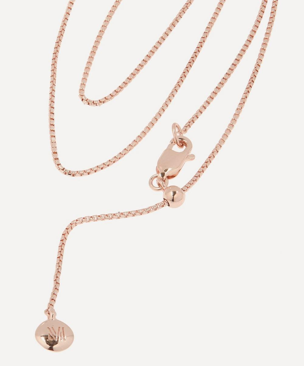 Rose Gold-Plated Fine Oval Box Chain