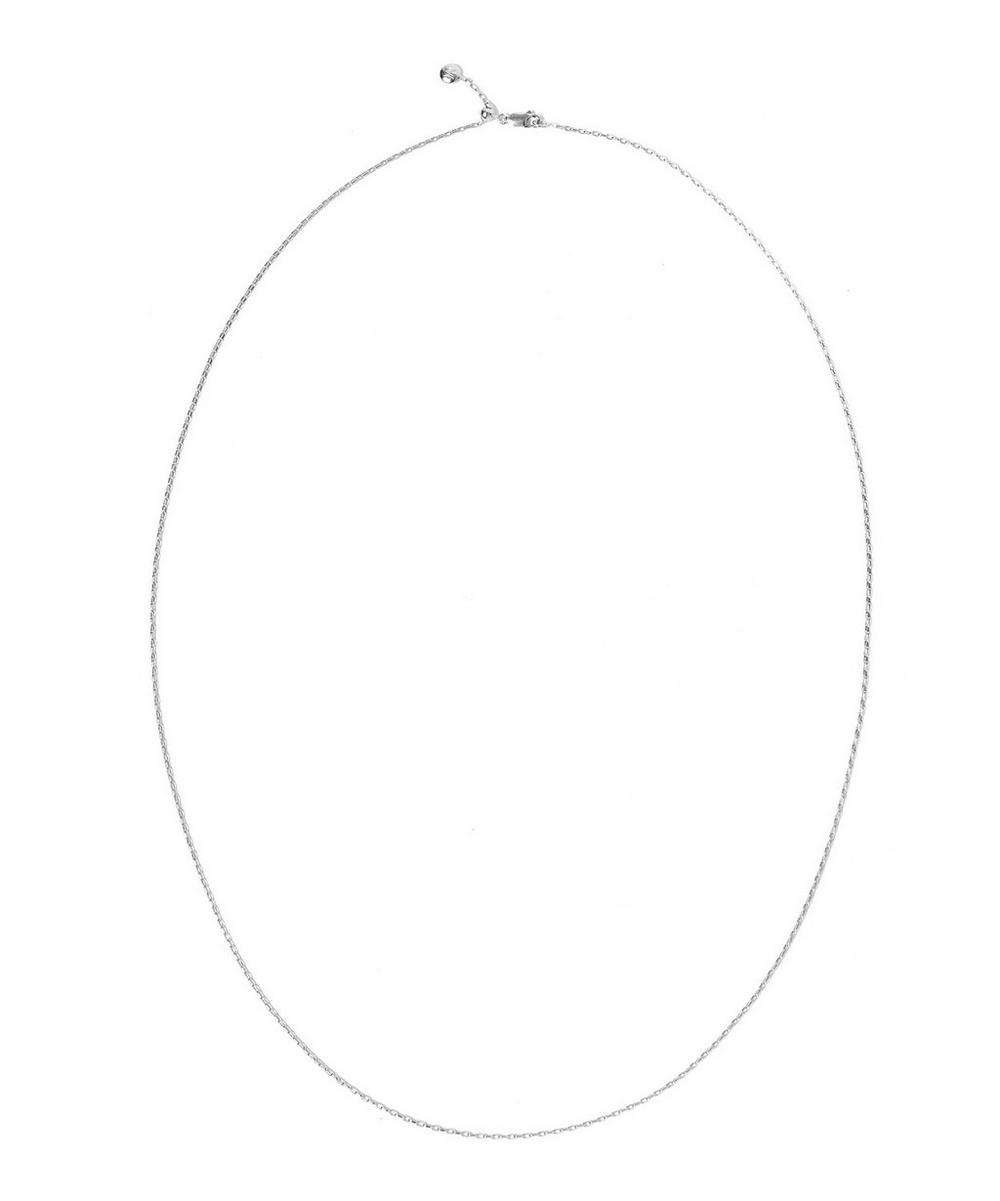 Silver Fine Open Link Chain