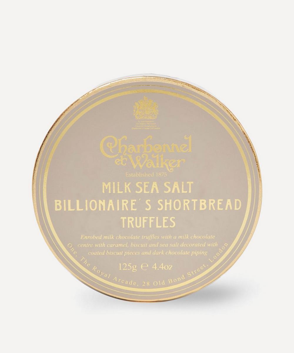 Milk Sea Salt Billionaire's Shortbread Truffle