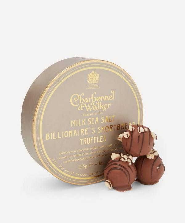 Milk Sea Salt Billionaire's Shortbread Truffle