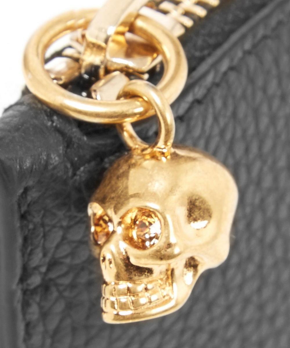 Leather Skull Keyholder