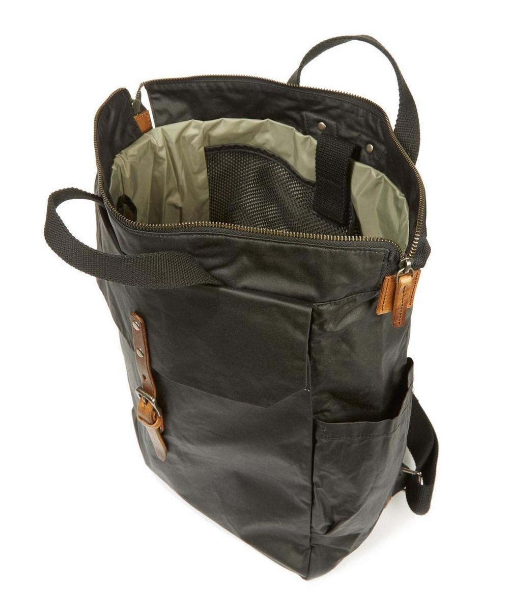 Ashley Waxed Cotton Utility Rucksack