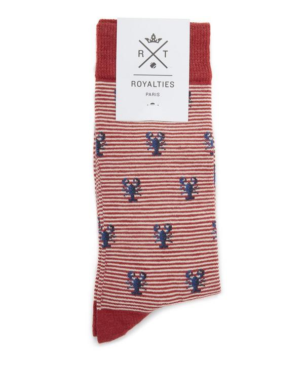 Homard Lobster Print Socks