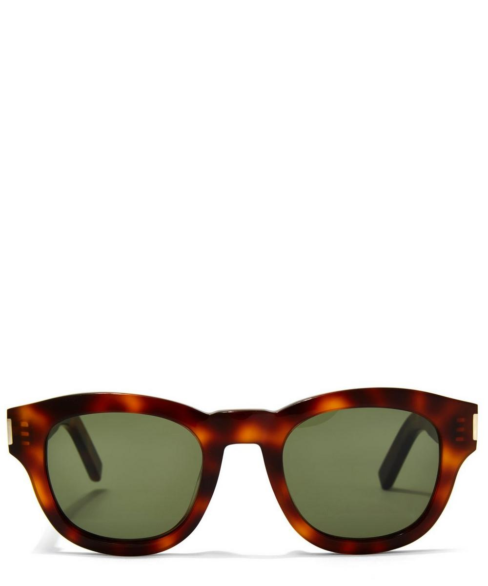 Clear Khaki Bold 2 Sunglasses 49