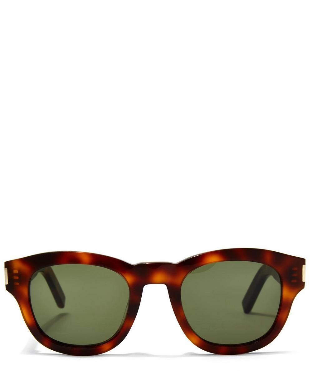 Clear Khaki Bold 2 Sunglasses 49