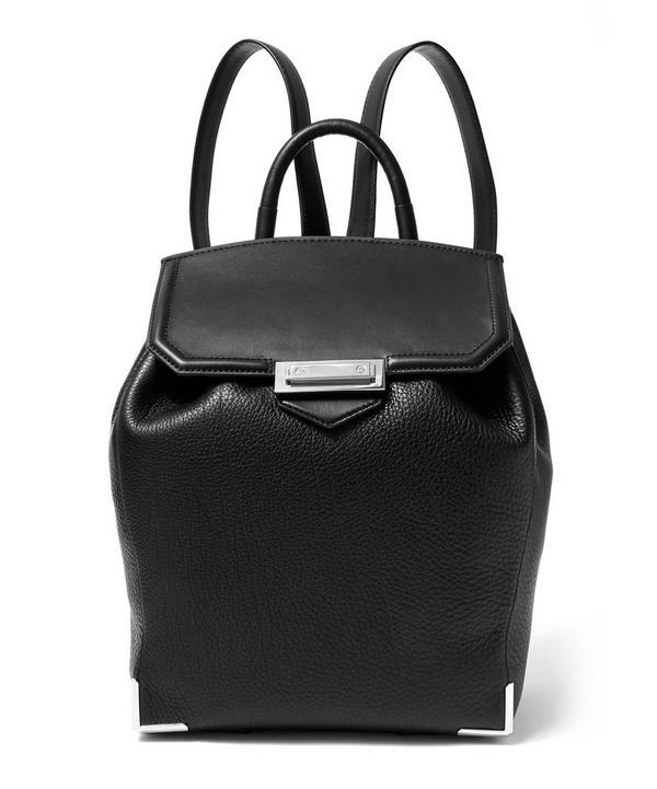 Prisma Skeletal Leather Backpack