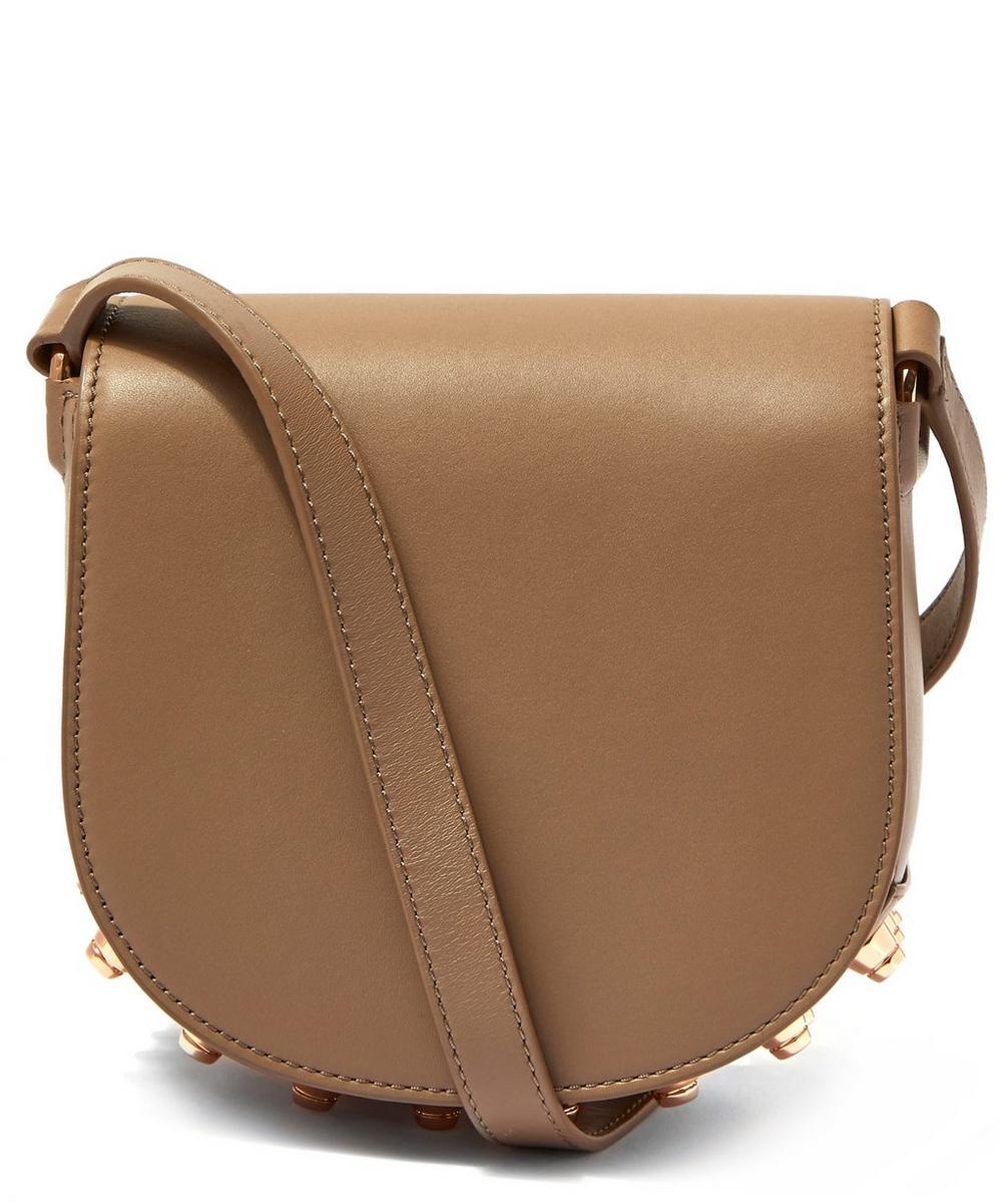 Mini Lia Leather Cross Body Bag