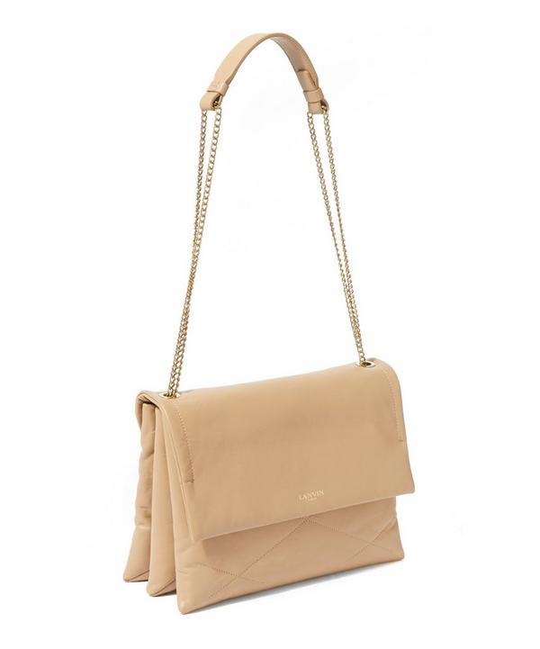 Black Sugar Leather Shoulder Bag