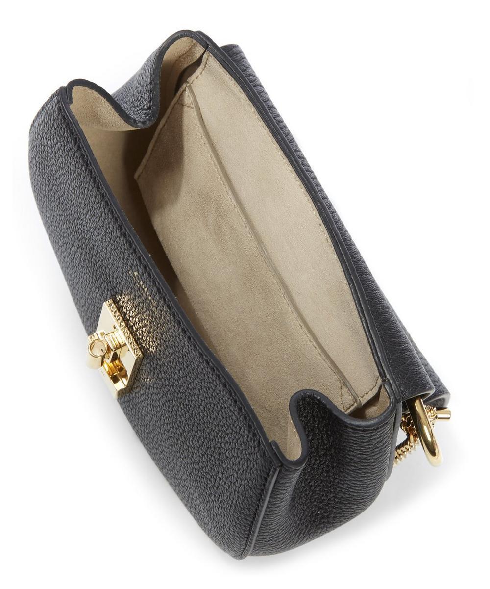 Grained Lambskin Mini Small Drew Bag