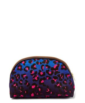 Small Leopard Print Luna Makeup Bag