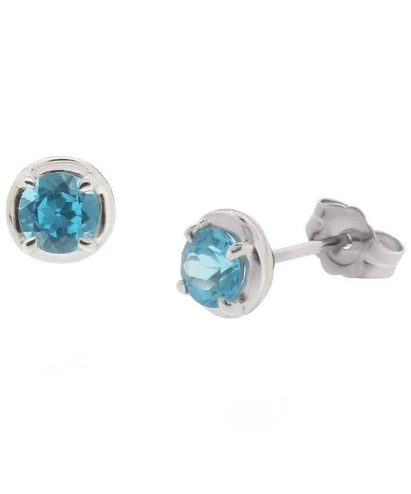 White Gold Rosie Studs