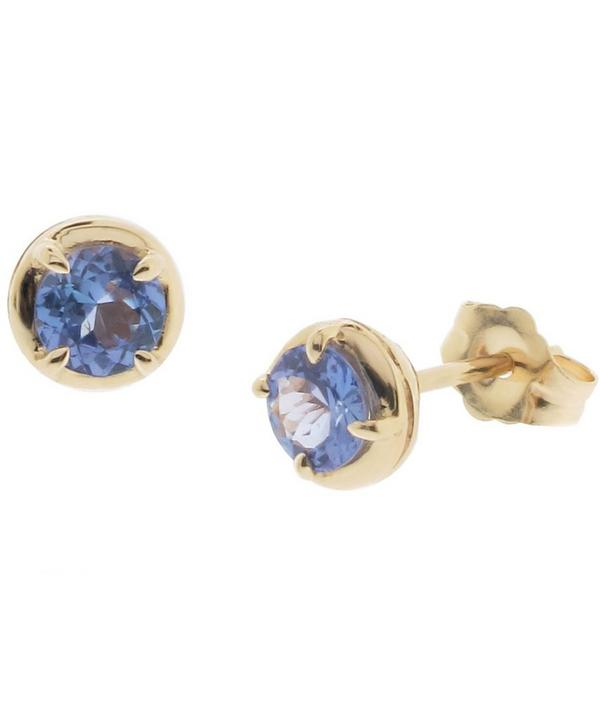 Rosie Tanzanite Stud Earrings