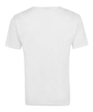 Superfine Low V-Neck Underwear T-Shirt