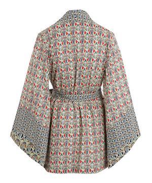 Mauverina Cotton Kimono