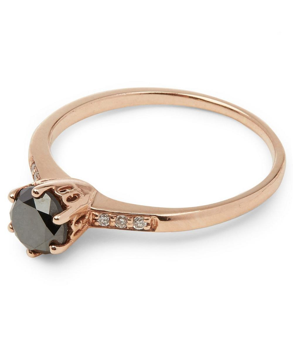 Rose Gold Hazeline Solitaire Ring