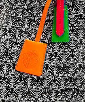 Neon Liberty London Little Marlborough Tote in Iphis Canvas