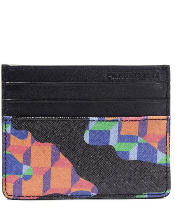 Cube Canvas Card Wallet
