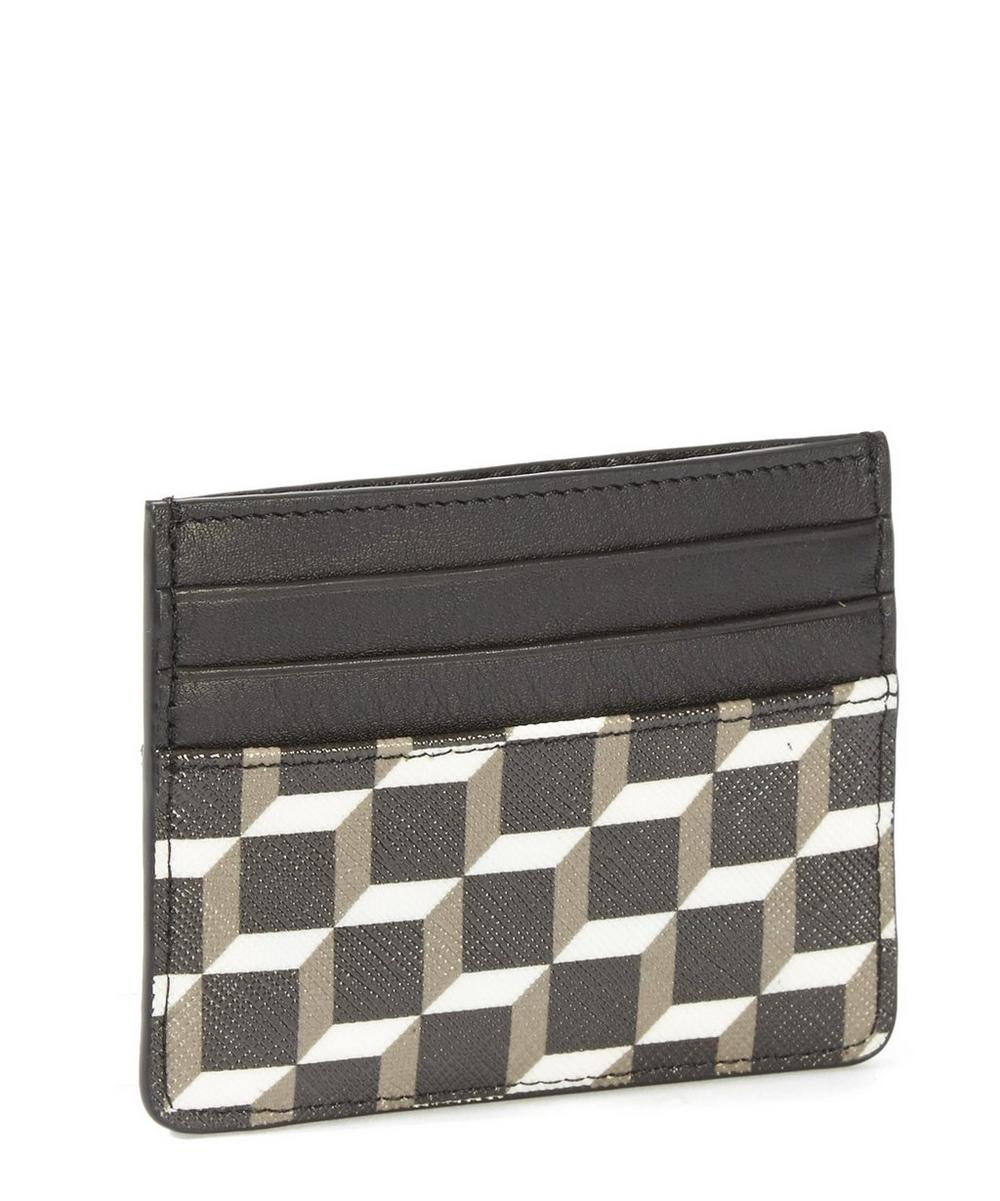 Cube Canvas Card Wallet