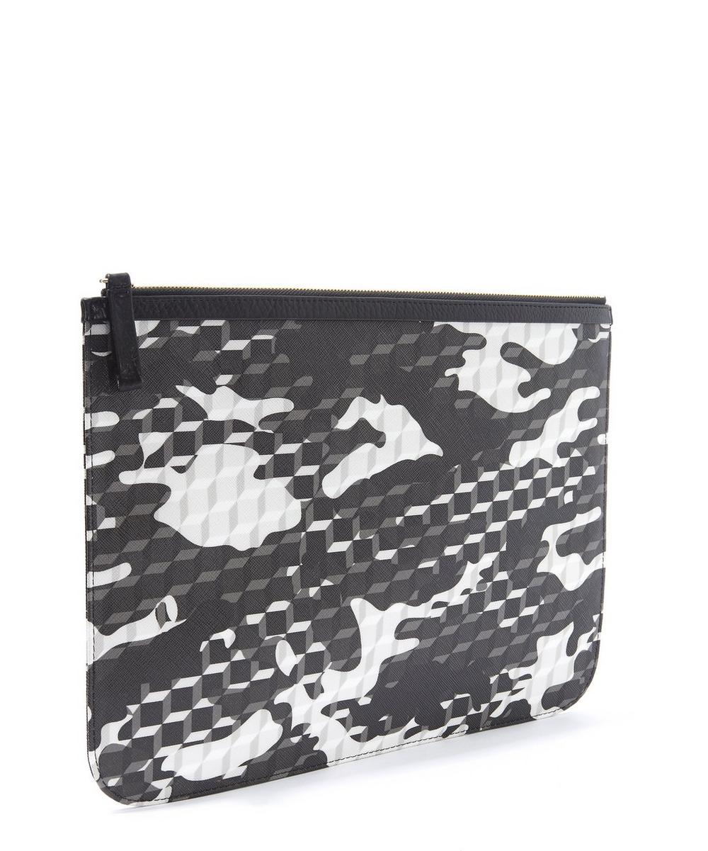 Camo Extra Large Canvas Pouch