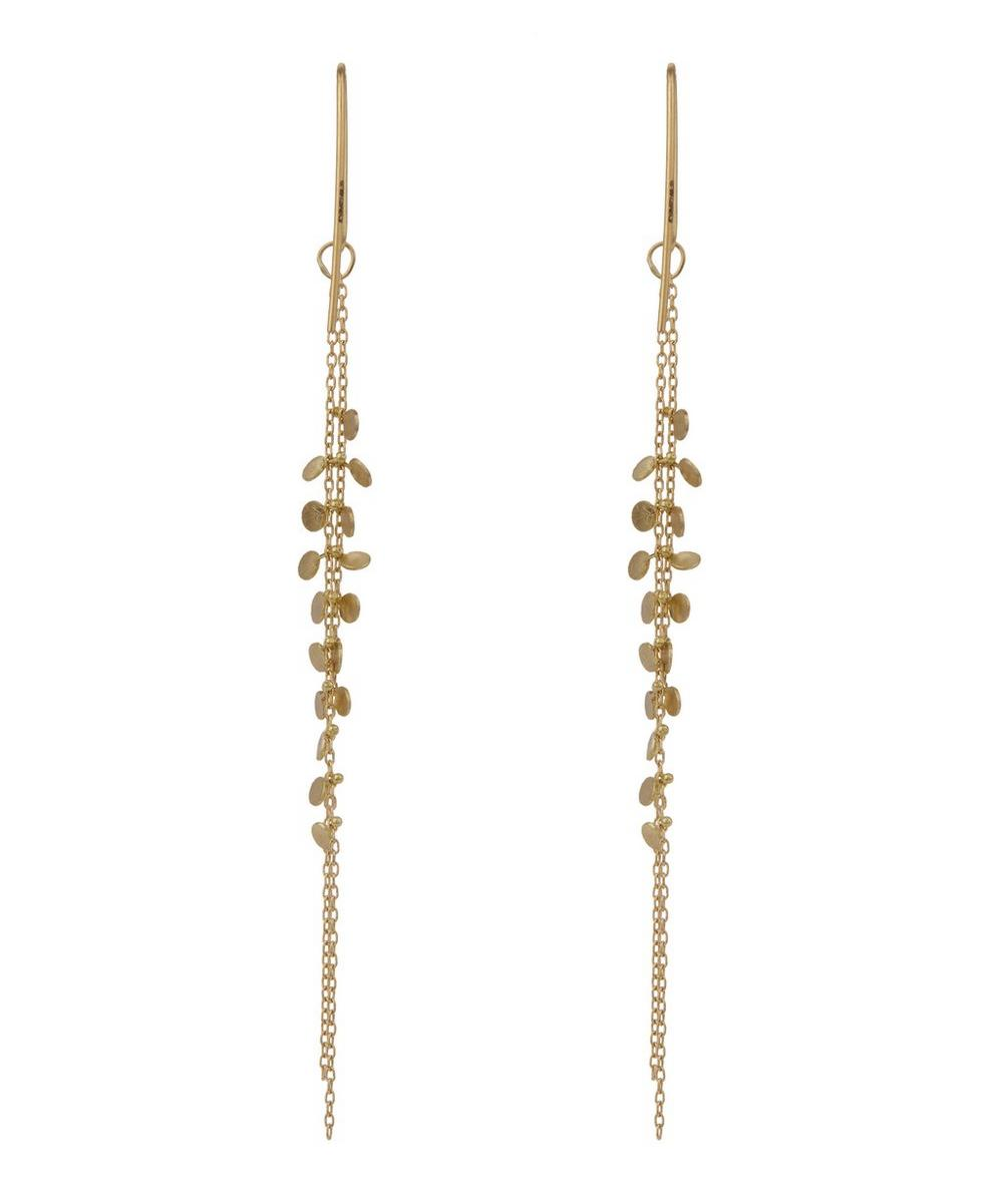 Gold Dots Earrings