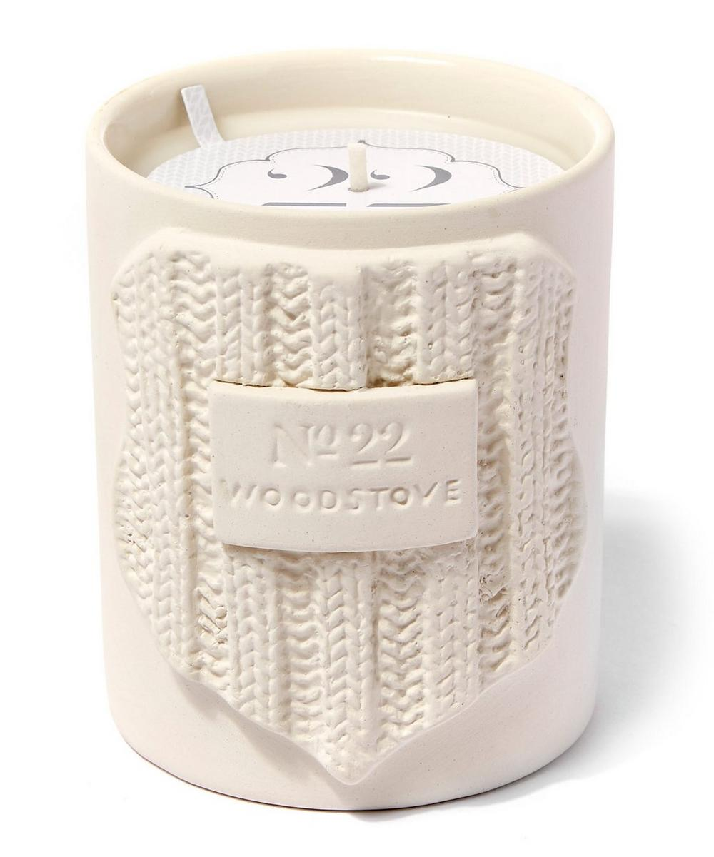Woodstove Candle