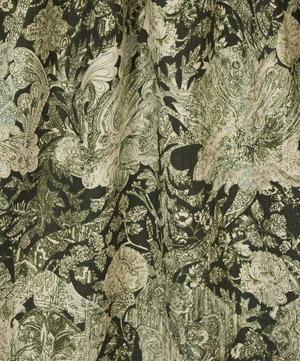 Emerald and Rose Cotton Linen in Bruce Green