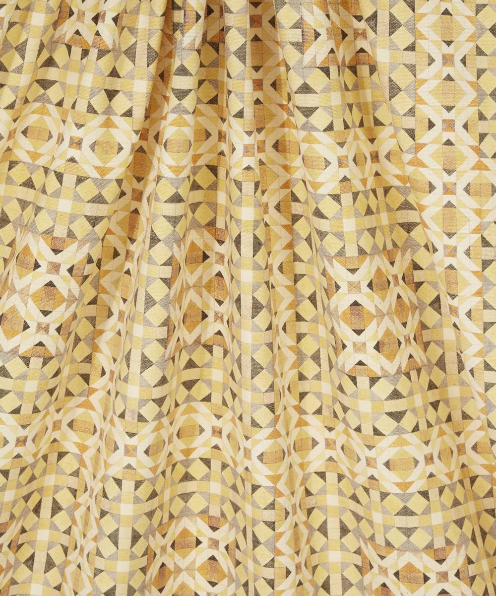 Parquet Simon Brushed Cotton Mogani in Sunligh