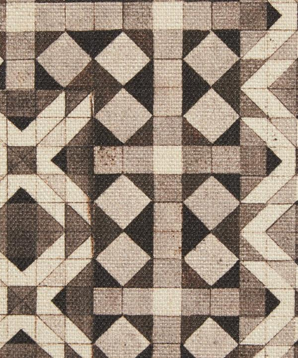 Parquet Simon Cotton Linen in Midnight