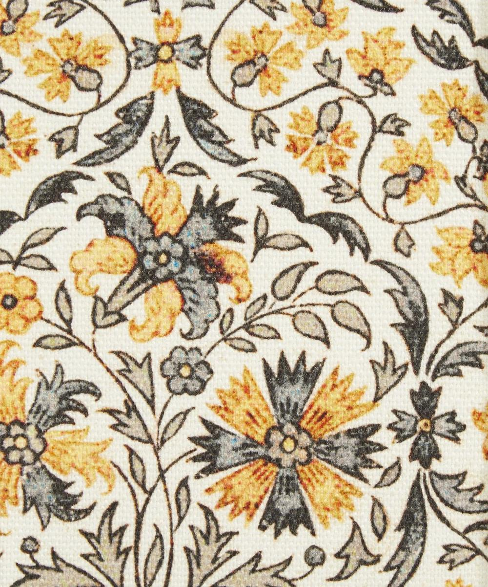 Petronella Chintz Cotton Linen in Treasure