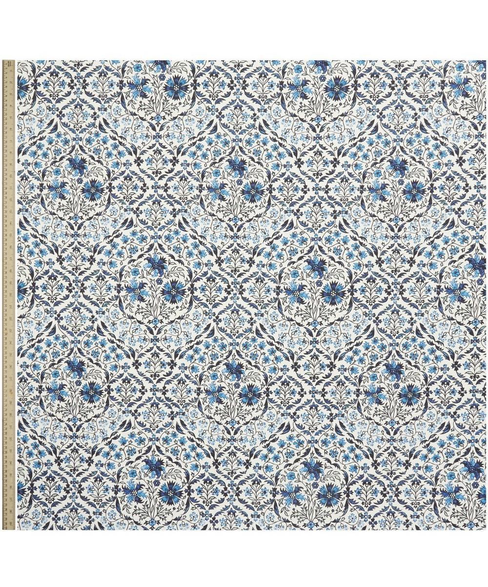Petronella Chintz Cotton Linen in Delft